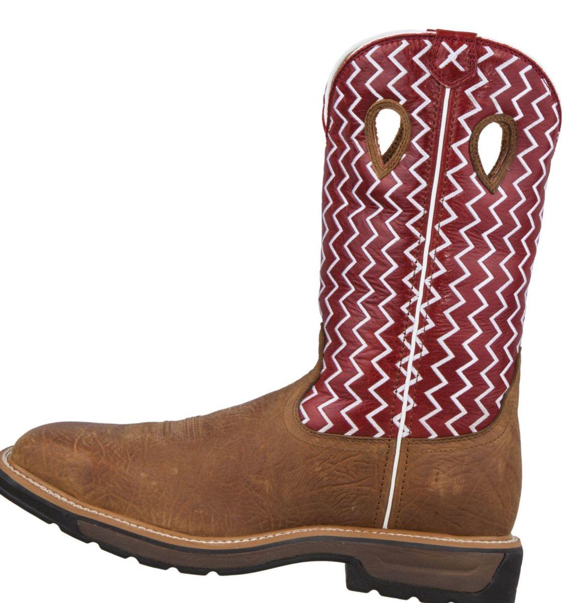 Twisted X Men's Lite Cowboy Steel Toe Work Boots