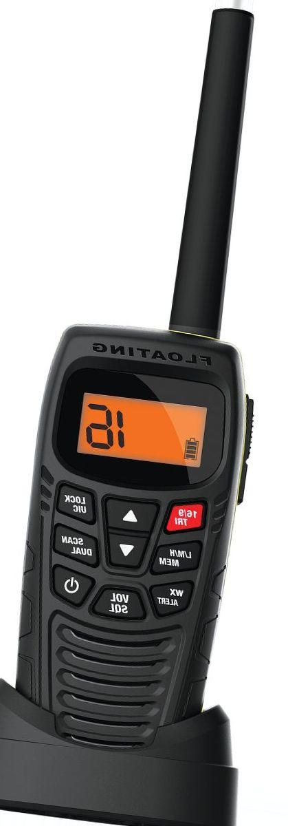 Uniden® Atlantis 270 Handheld Floating VHF Radio