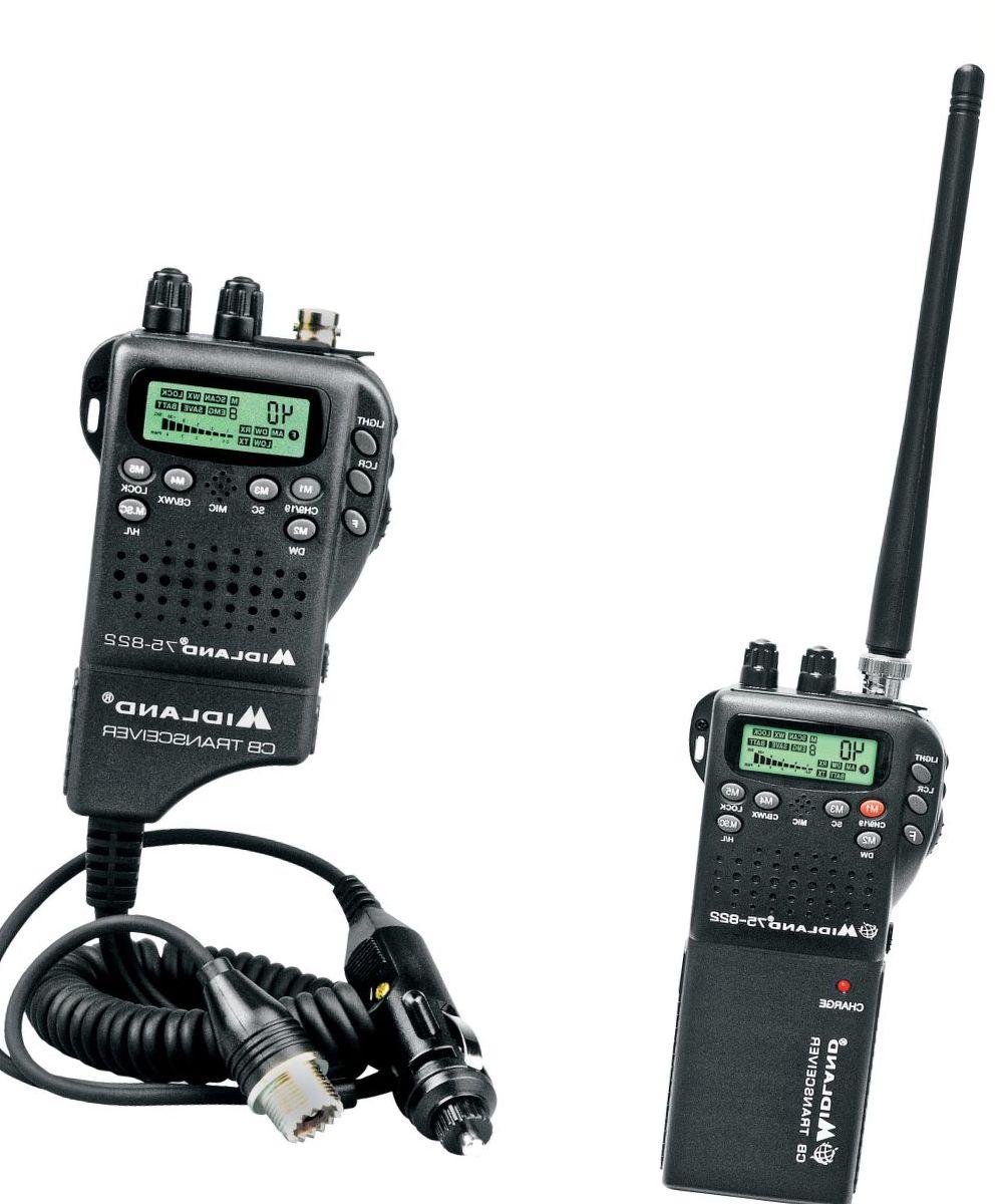 Midland 2-in-1 40-Channel Handheld CB Radio