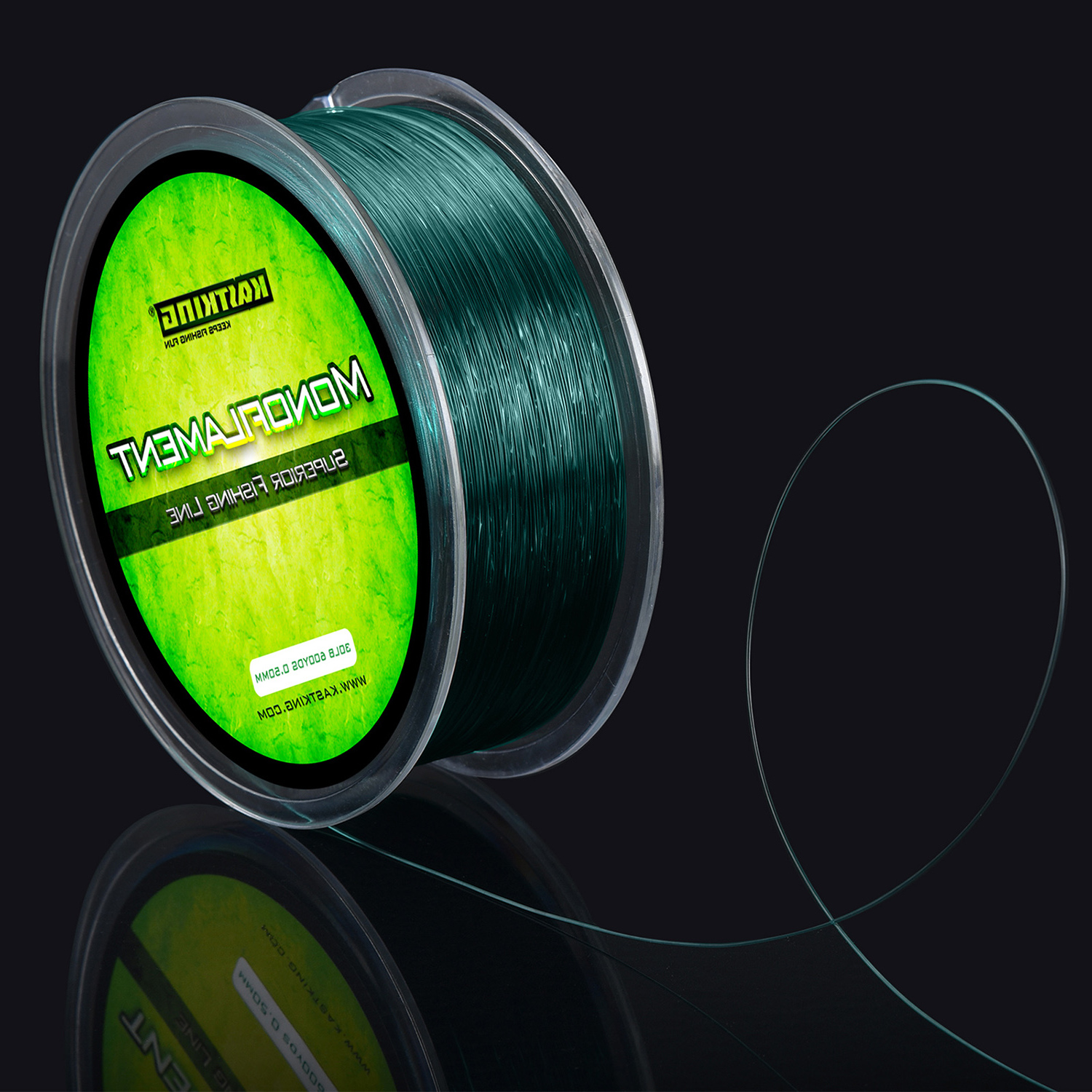 KastKing Green Premium Monofilament Fishing Line