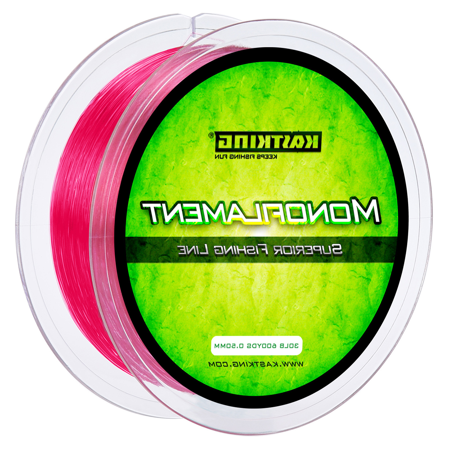 KastKing Red Premium Monofilament Fishing Line