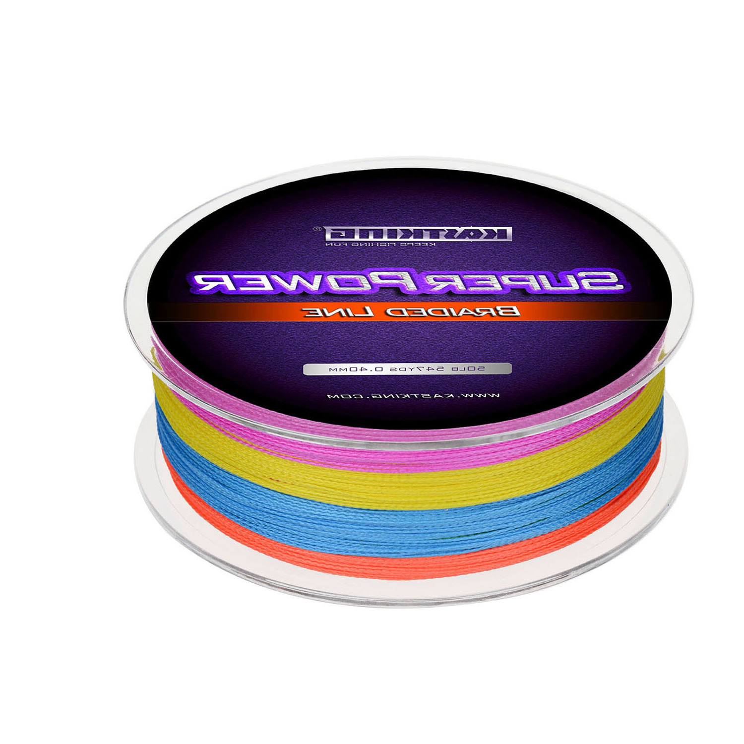 KastKing SuperPower Multi-color Braided Fishing Line