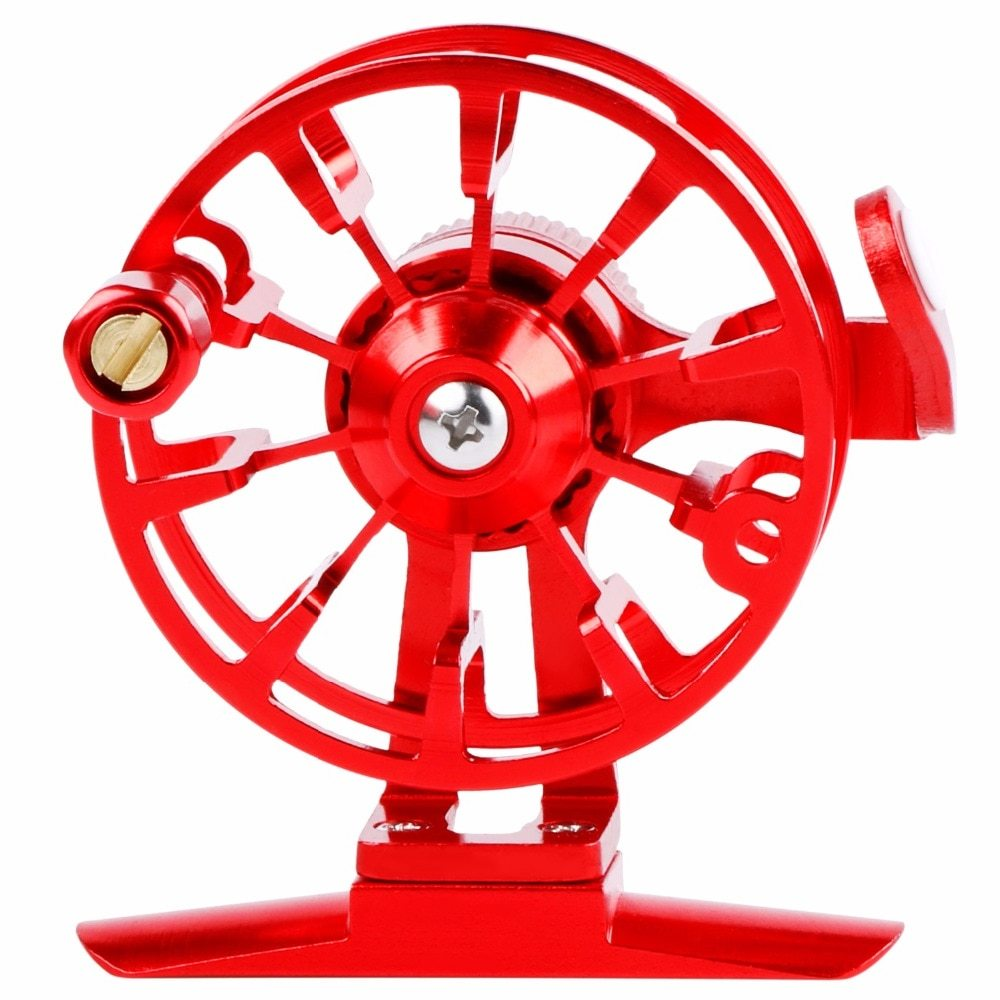 Sougayilang 5 color Ultra-light Ice Fishing Reels Aluminium Alloy Fly Fishing Reel Wheel Mini Reels Fishing Tackle De Pesca