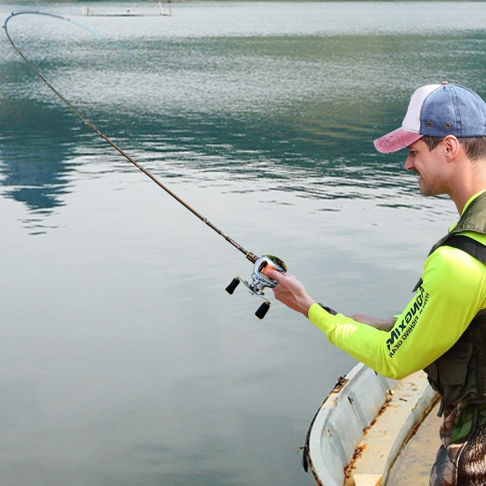 Sougayilang 6.3:1 High Speed Baitcasting Fishing Reel Casting Fishing Reel Saltwater Freshwater Reels Fishing Max Drag 5.5kg