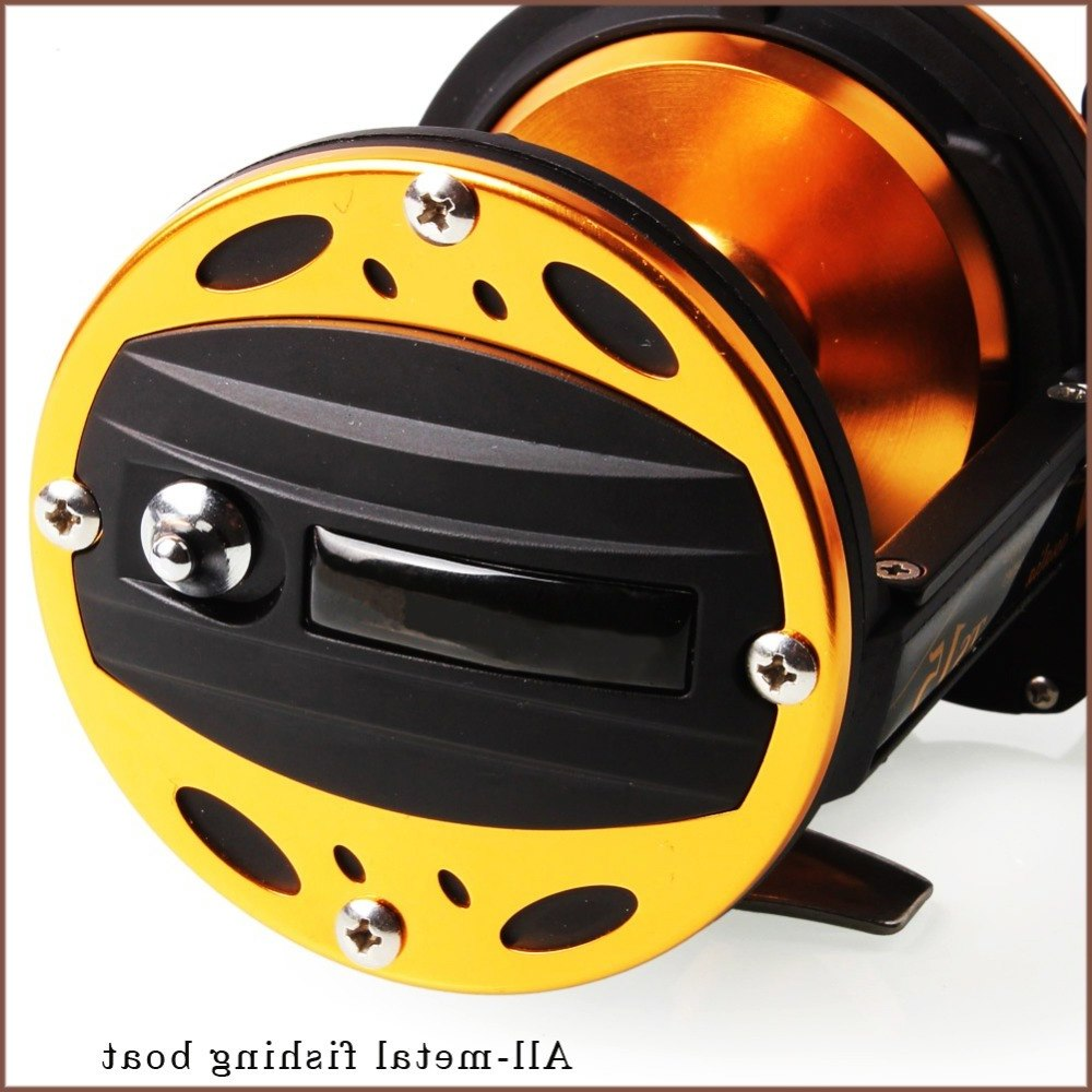 Sougayilang Professional Drum Fishing Reel Baitcasting Reel 3BB Carp Fishing Gear Bait Drag Fishing Reel Wheel Coil De Pesca