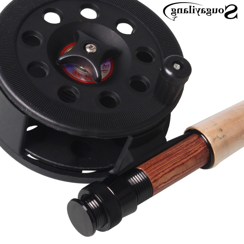 Sougayilang Super Hard Plastic Material Fly Fishing Reel Ice Fishing Reel Vessel Wheel Saltwater Seawater Fishing Tackle Tools
