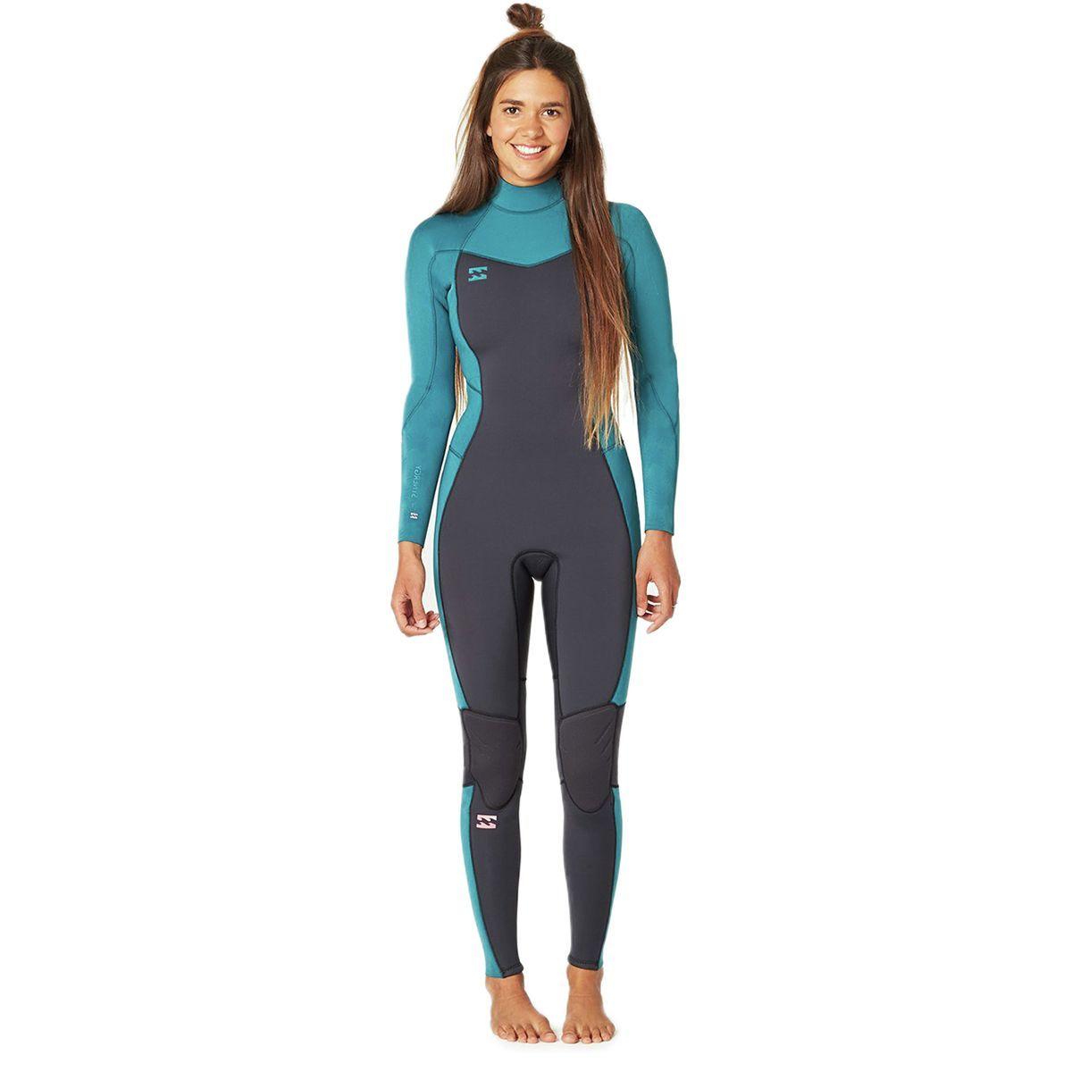 Billabong 3/2mm Furnace Synergy Back Zip GBS Full Wetsuit - Women's