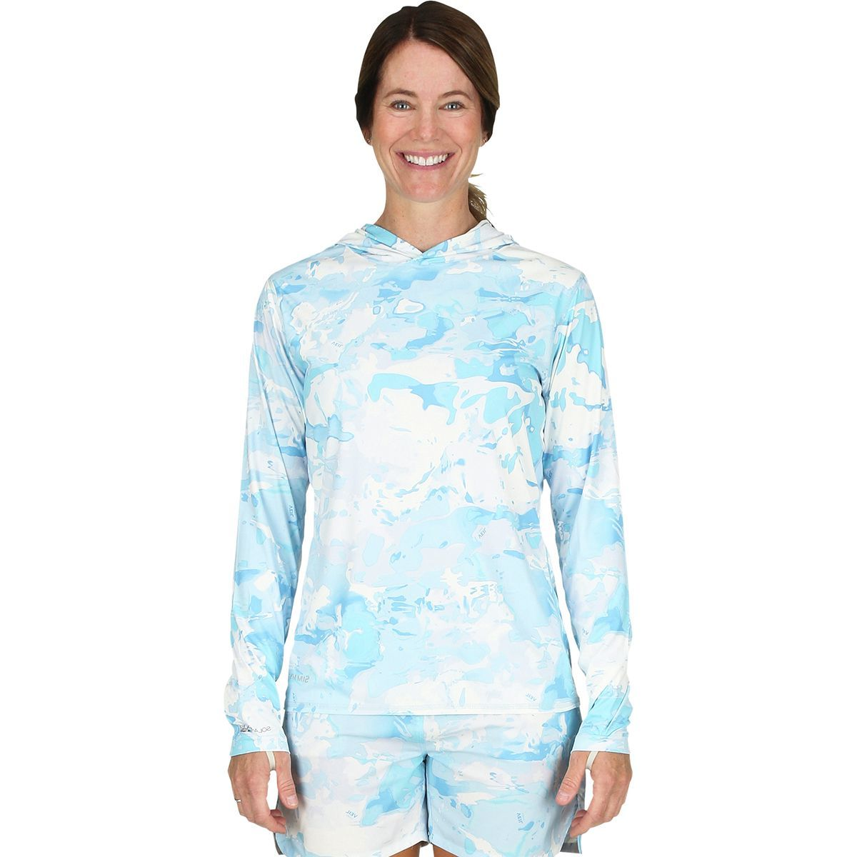 Simms Solarflex Hooded Print Shirt - Women's