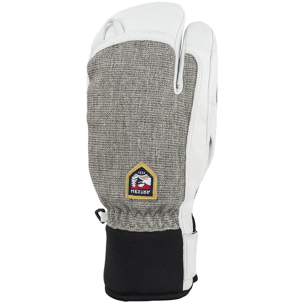 Hestra Army Leather Patrol 3-Finger Glove - Men's