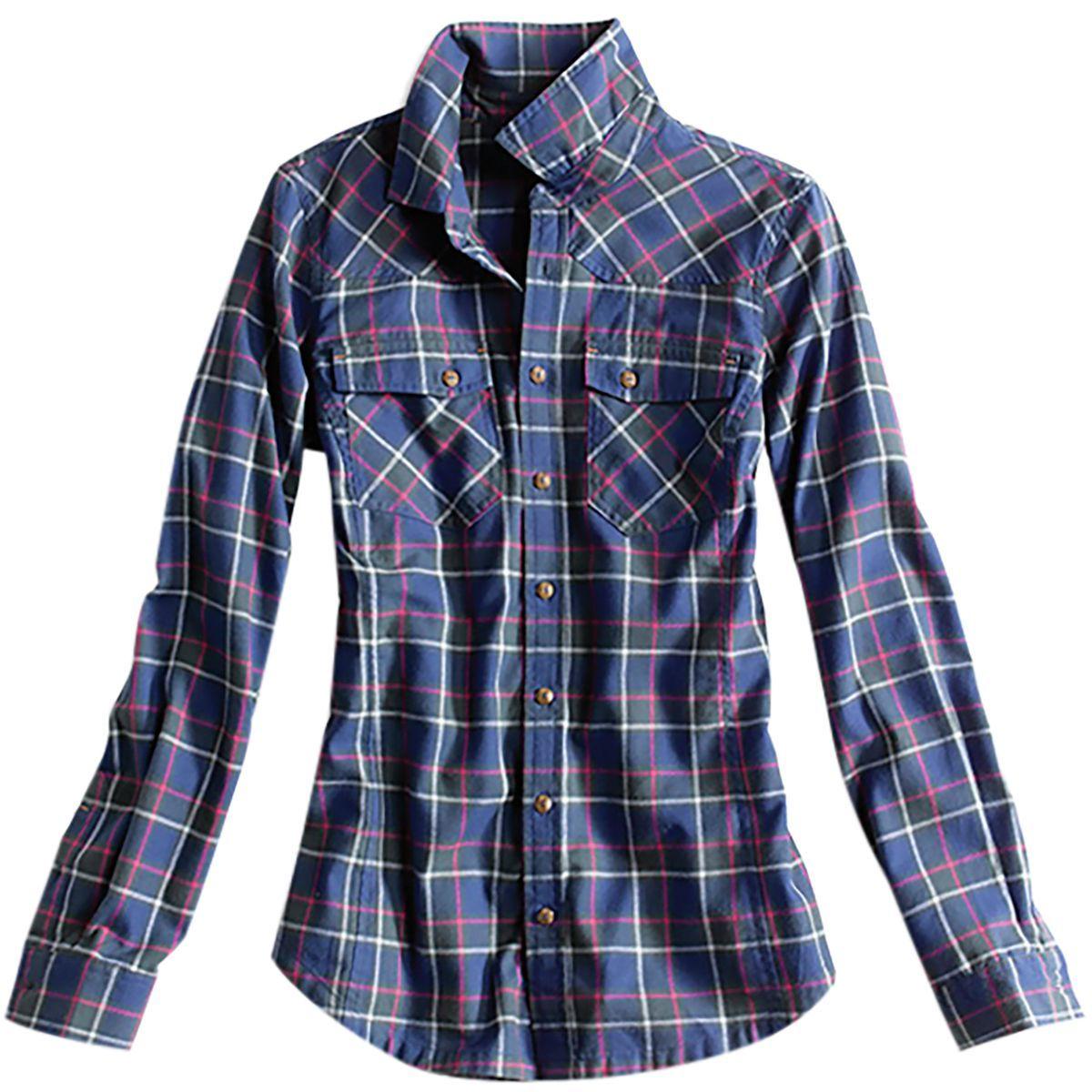 Orvis Misty Morning Western Flannel Shirt - Women's