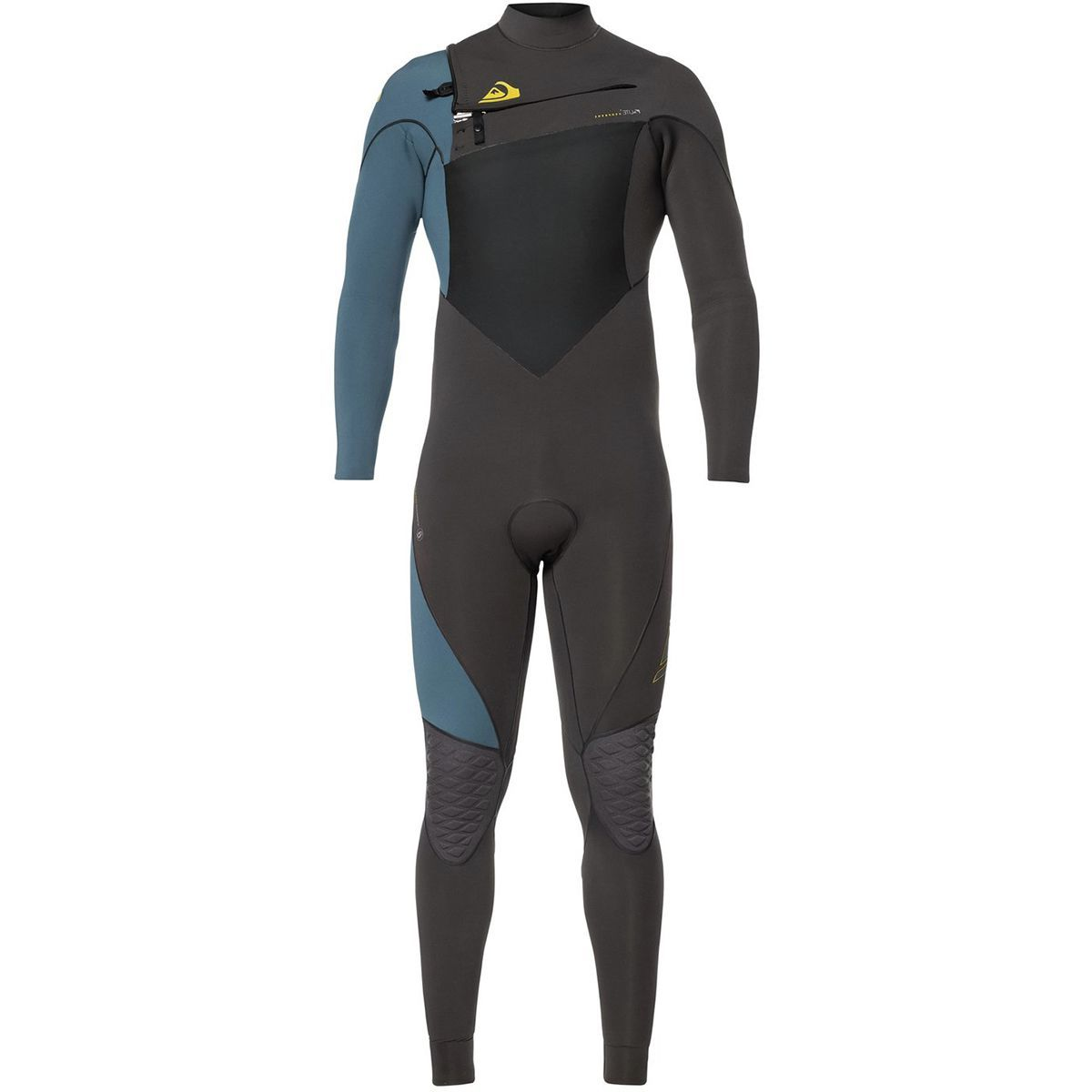 Quiksilver 4/3 Highline Plus Chest-Zip Hydrolock Wetsuit - Men's