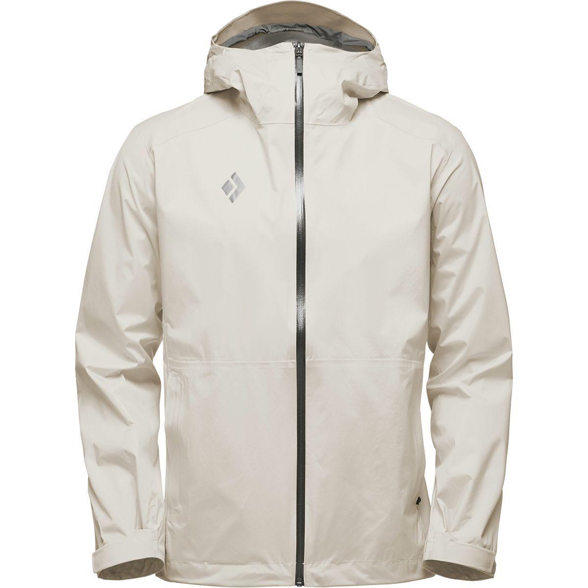 Black Diamond Stormline Stretch Rain Shell Jacket - Men's