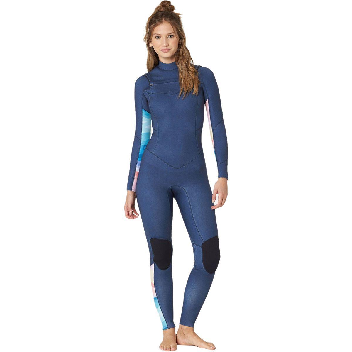 Billabong 4/3 Salty Dayz Chest-Zip Full Wetsuit - Women's