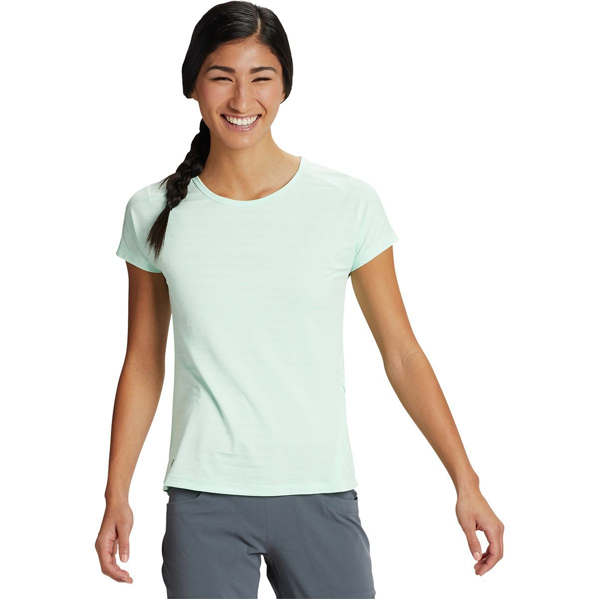 Mountain Hardwear Mighty Stripe Short-Sleeve T-Shirt - Women's