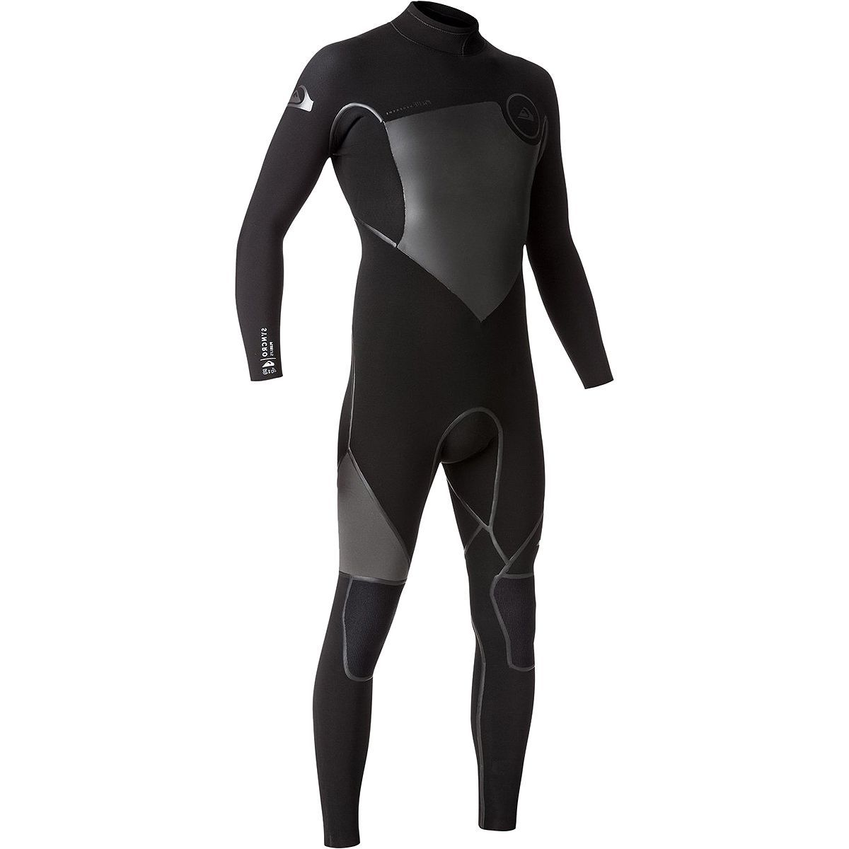 Quiksilver 4/3 Syncro Plus Back-Zip LFS Wetsuit - Men's
