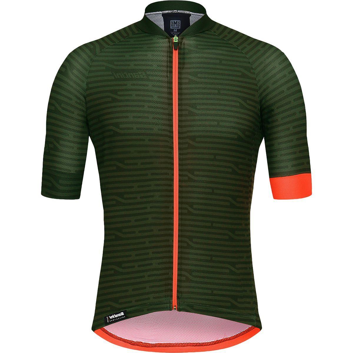 Santini Soffio Short-Sleeve Jersey - Men's