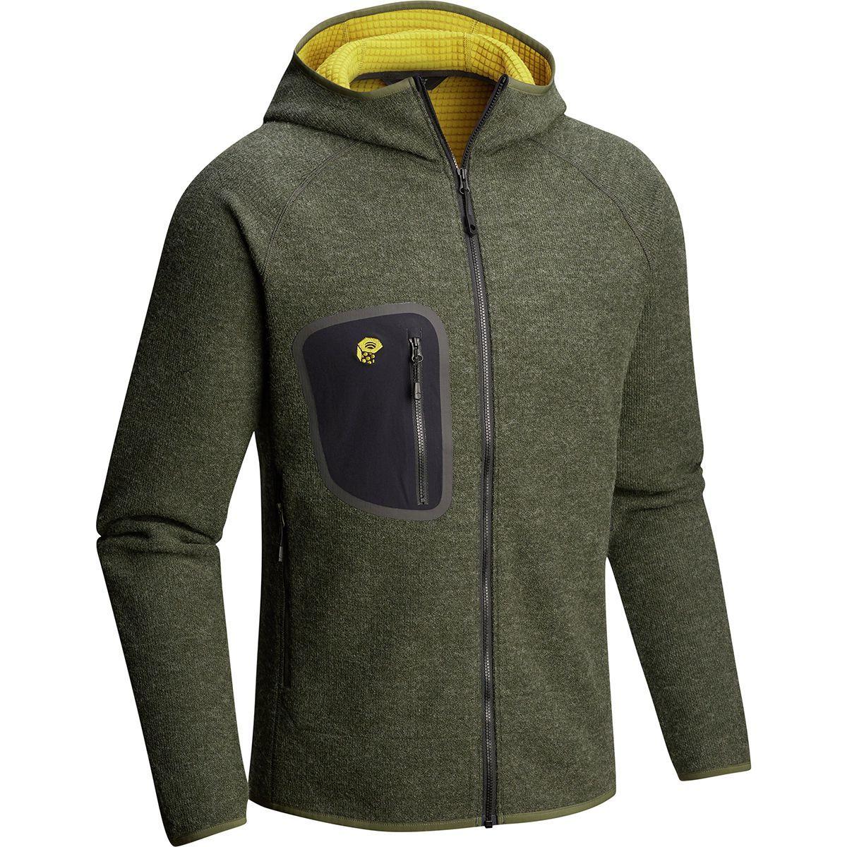 Mountain Hardwear Hatcher Full-Zip Hooded Jacket - Men's