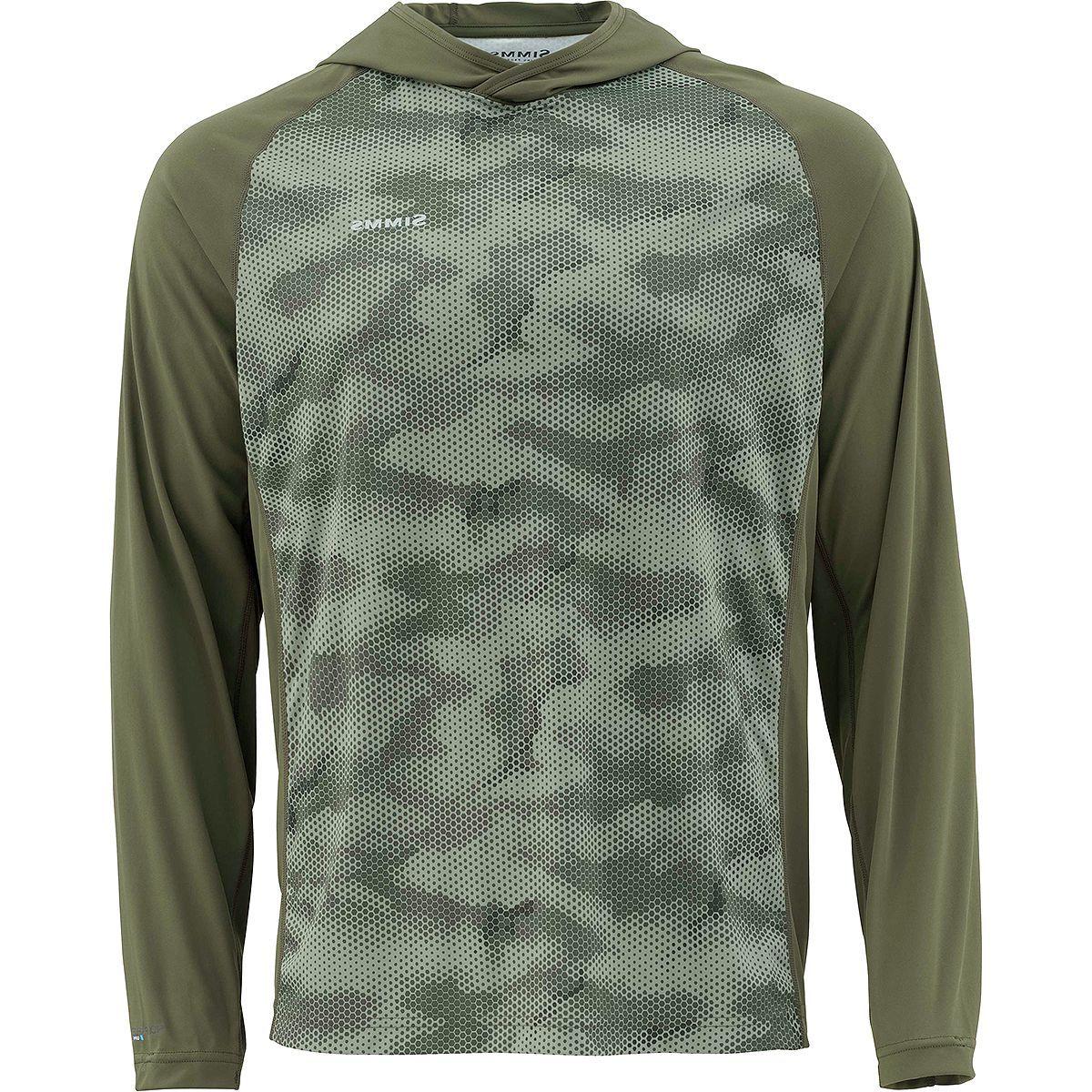 Simms Solarflex Hooded Print Shirt - Men's