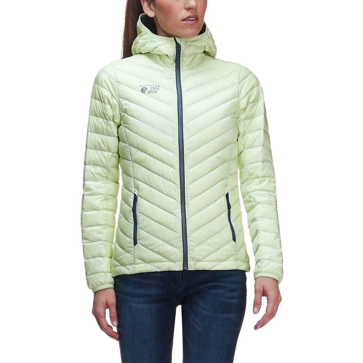 Mountain Hardwear Micro Ratio Hooded Down Jacket - Women's