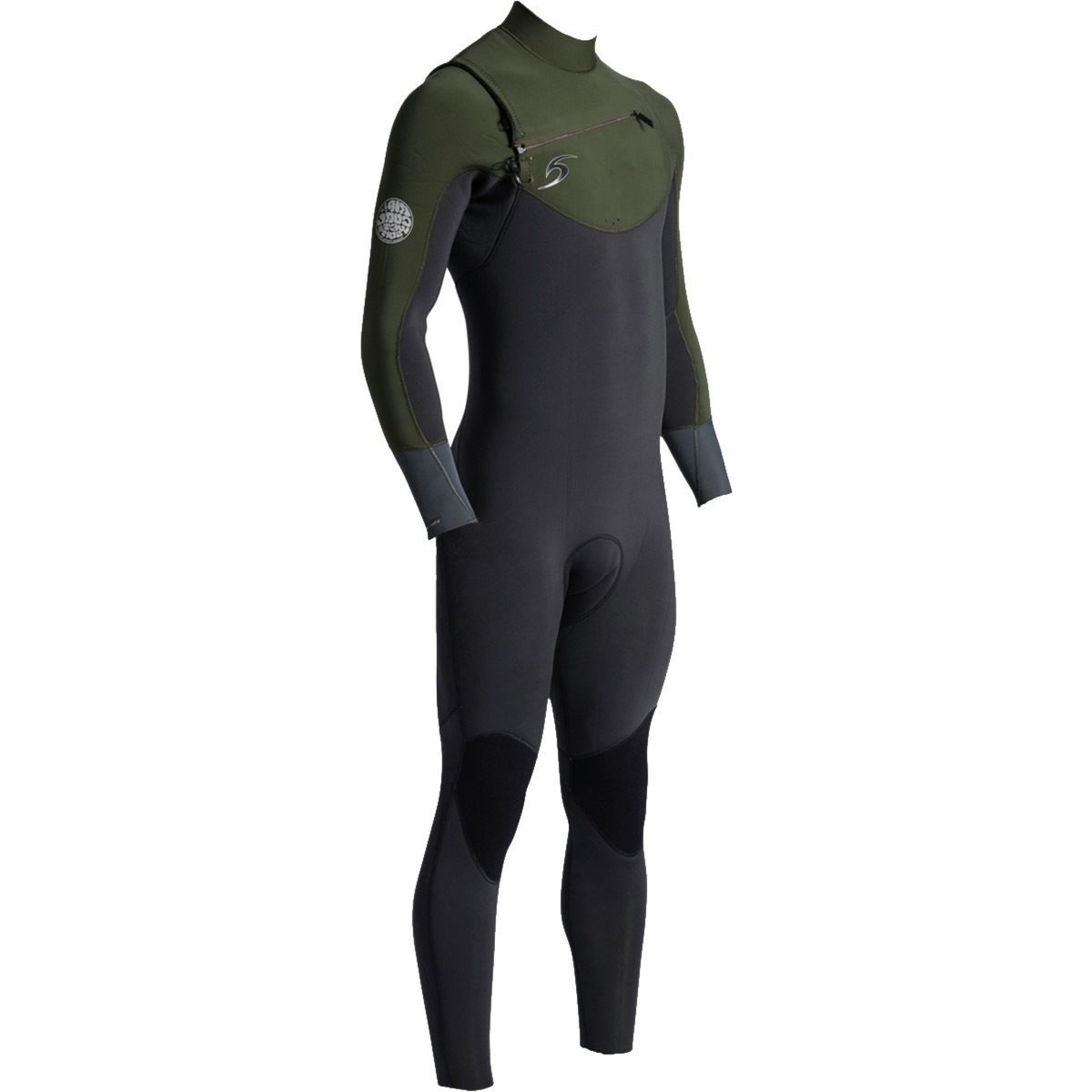 Rip Curl Dawn Patrol 4/3 Chest-Zip Full Wetsuit - Men's