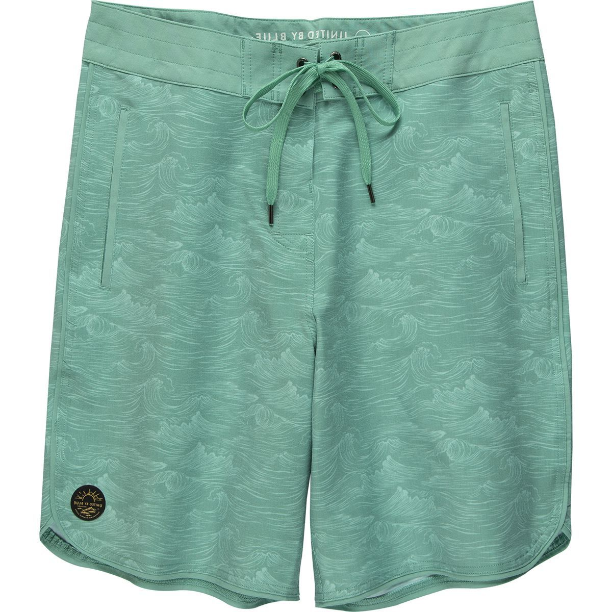 United by Blue Swell Scallop Board Short - Men's