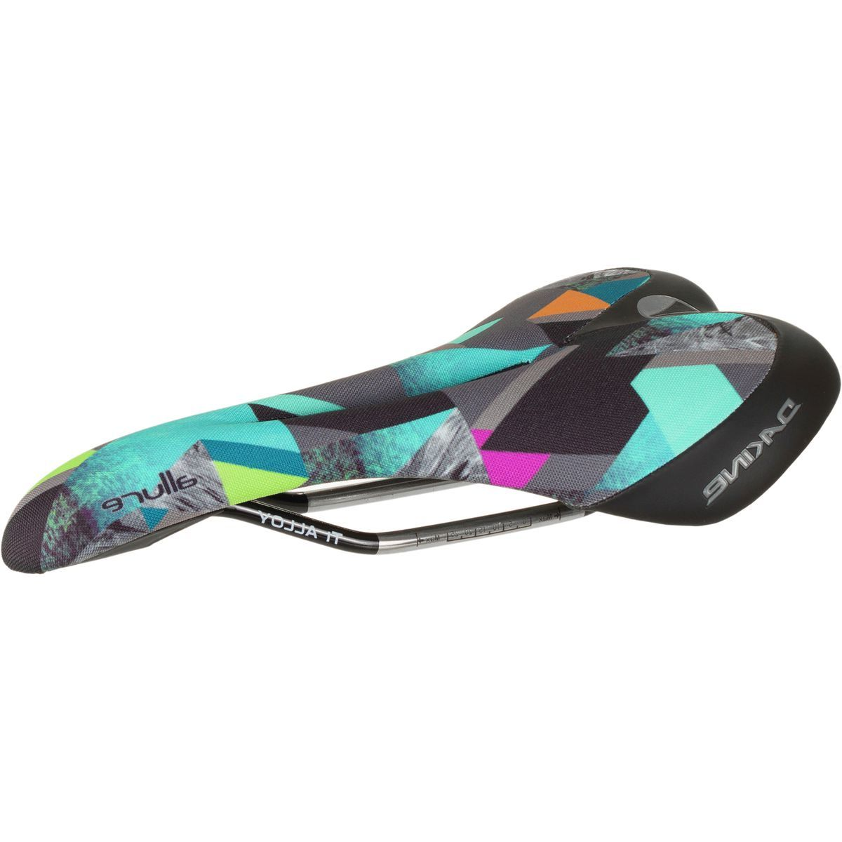 SDG Components Allure Dakine Steffi Marth Co-op Ti-Alloy Saddle - Women's