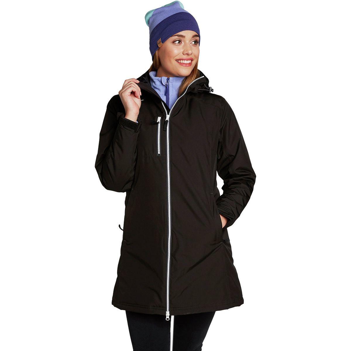 Helly Hansen Long Belfast Winter Insulated Jacket - Women's