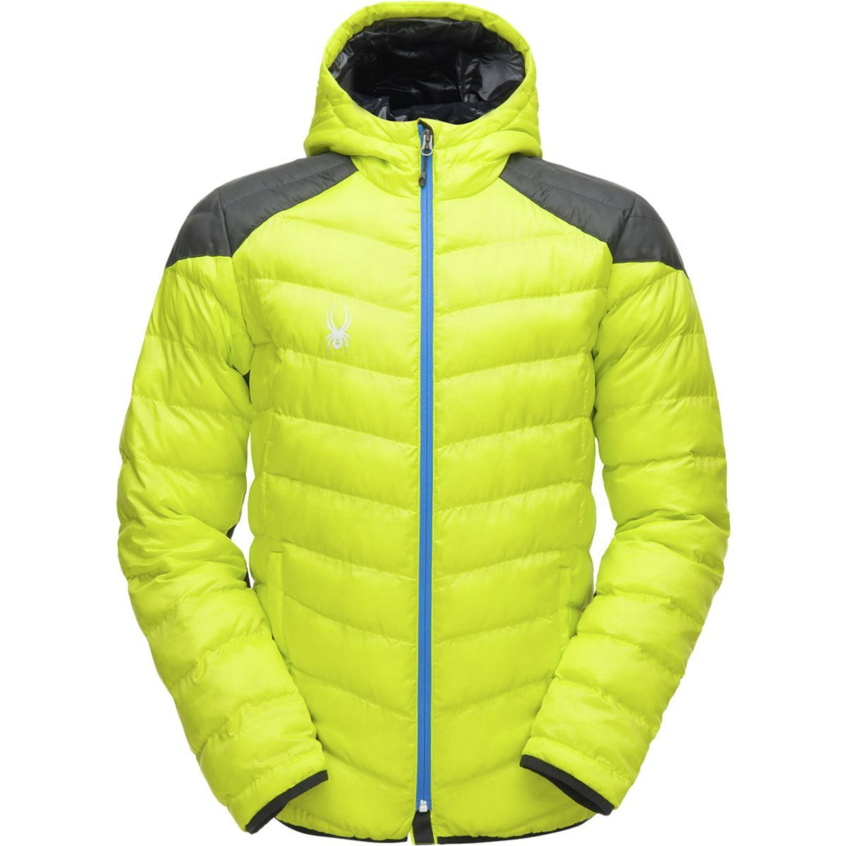 Spyder Geared Hooded Synthetic Down Jacket - Men's