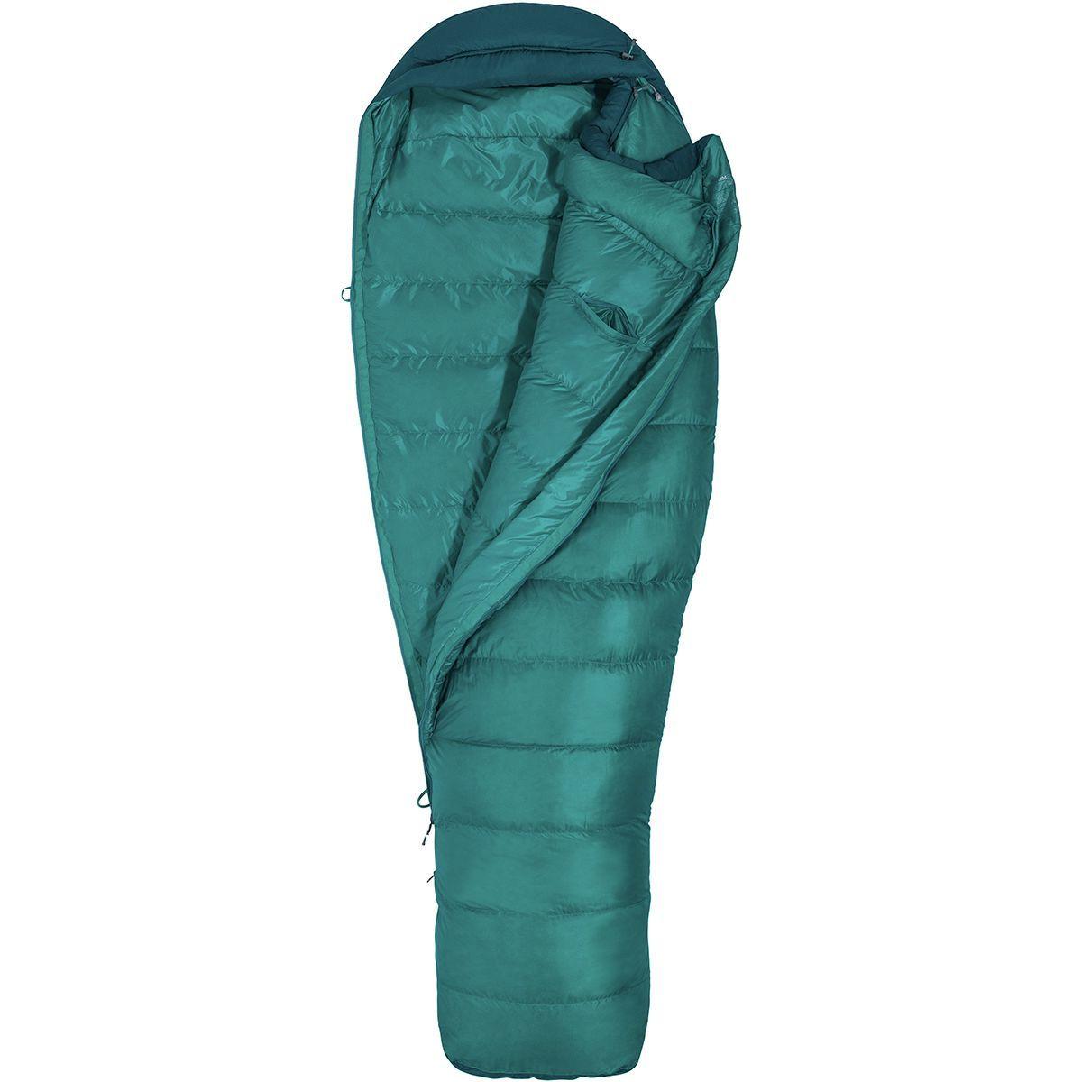 Marmot Angel Fire Sleeping Bag: 25 Degree Down - Women's