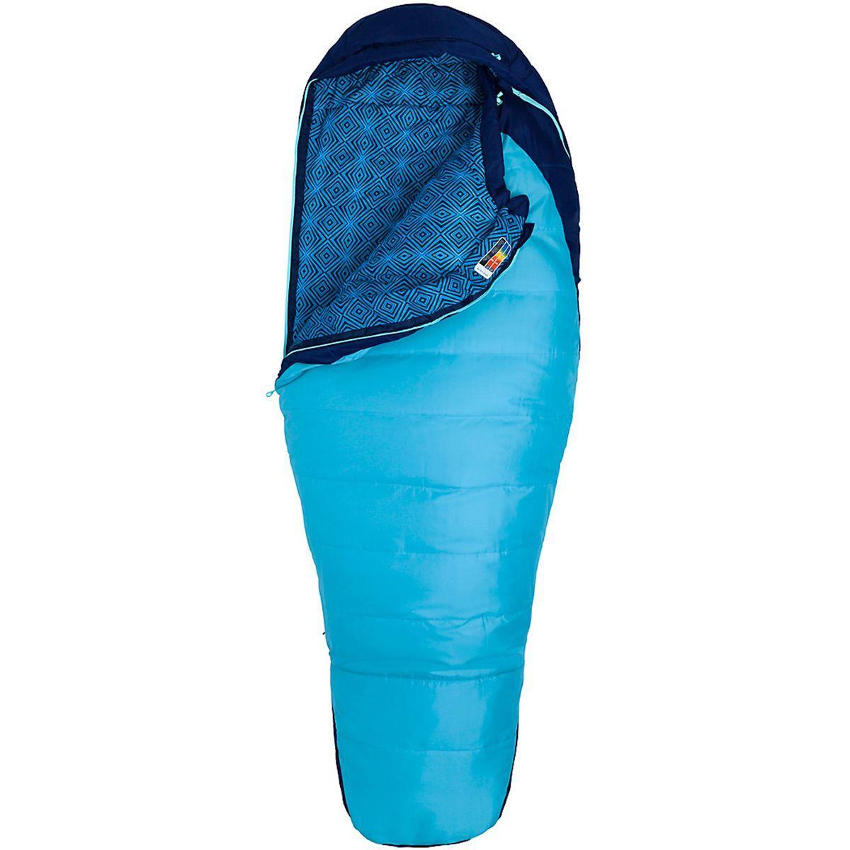 Marmot Trestles 15 Sleeping Bag: 15 Degree Synthetic - Women's