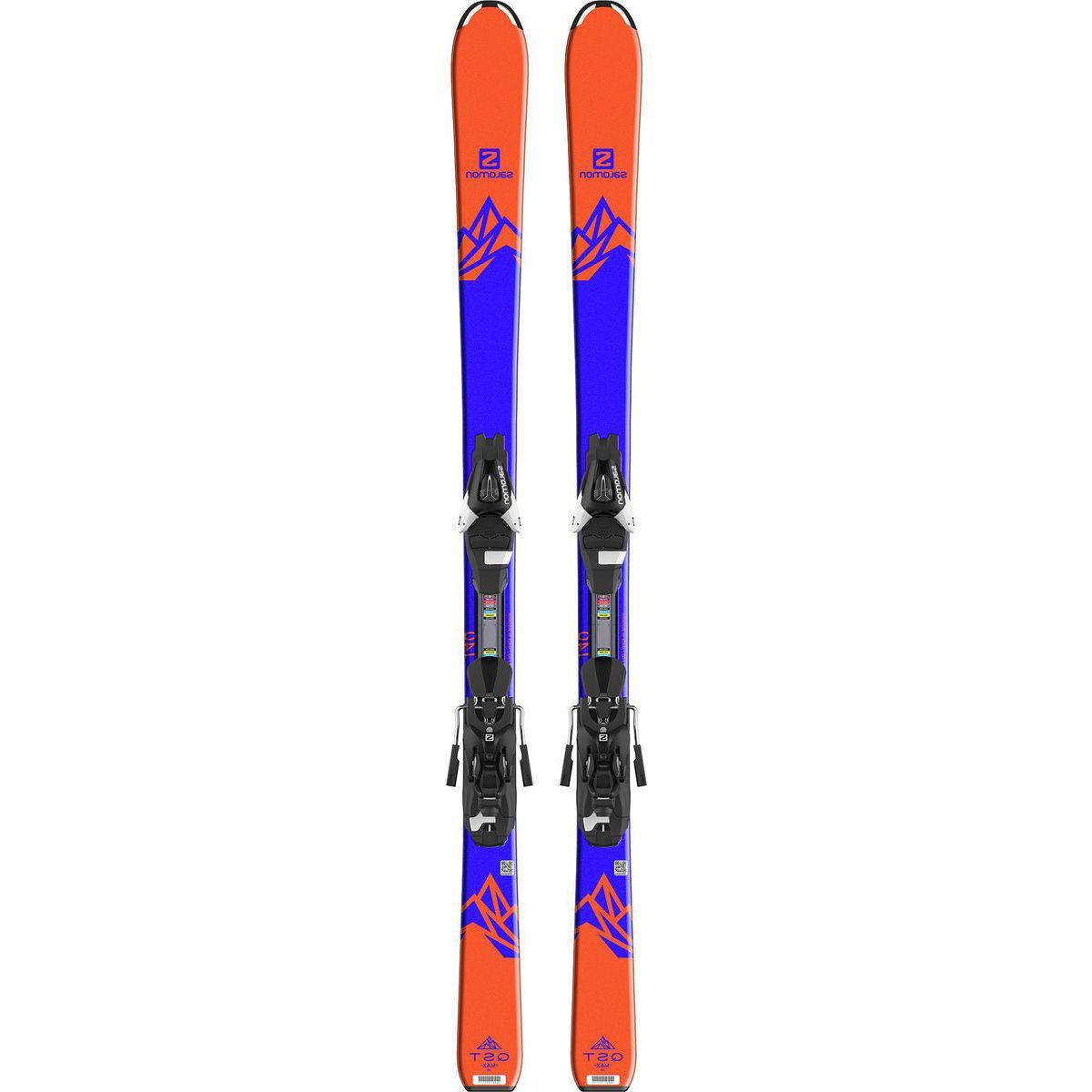Salomon QST Max JR Ski + EZY7 B80 Binding - Boys'