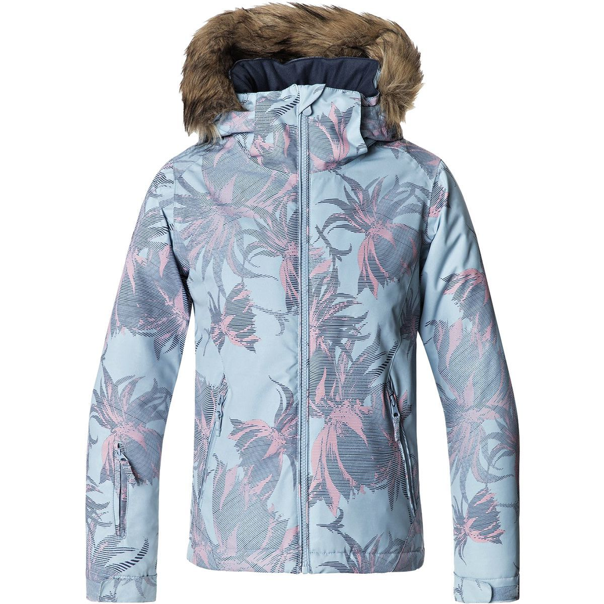 Roxy American Pie Hooded Jacket - Girls'