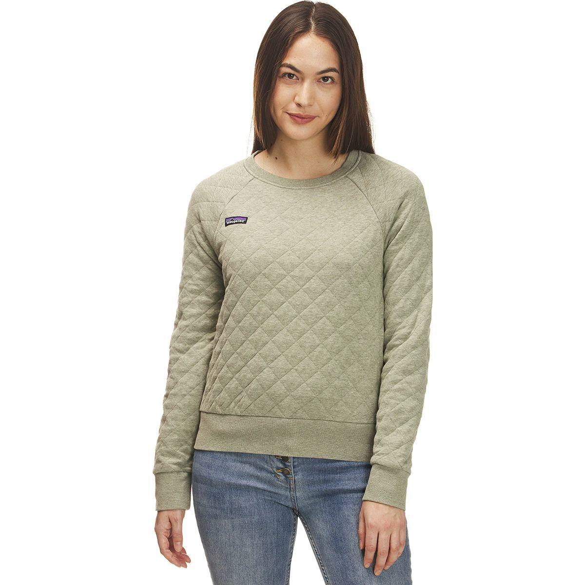 Patagonia Organic Cotton Quilt Crew Sweatshirt - Women's