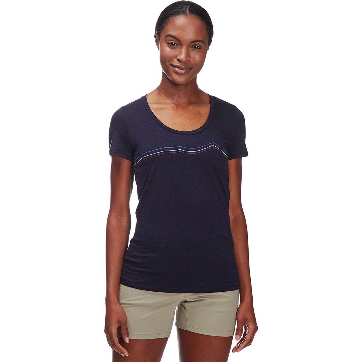 Icebreaker Tech Lite Rangitoto Triple Scoop Shirt - Women's