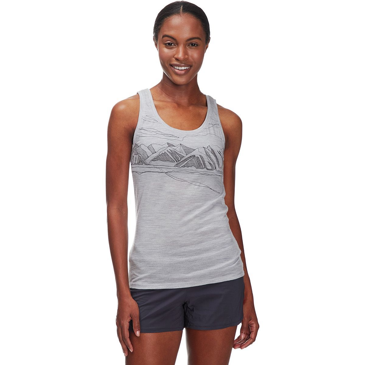 Icebreaker Tech Lite Coronet Peak Tank Top - Women's