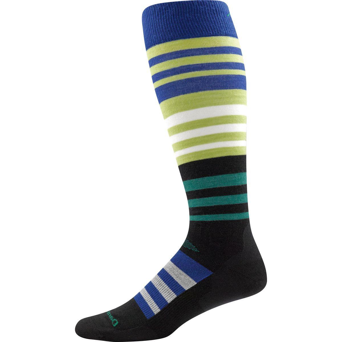 Darn Tough Hojo Over-The-Calf Ultra-Light Ski Sock - Men's