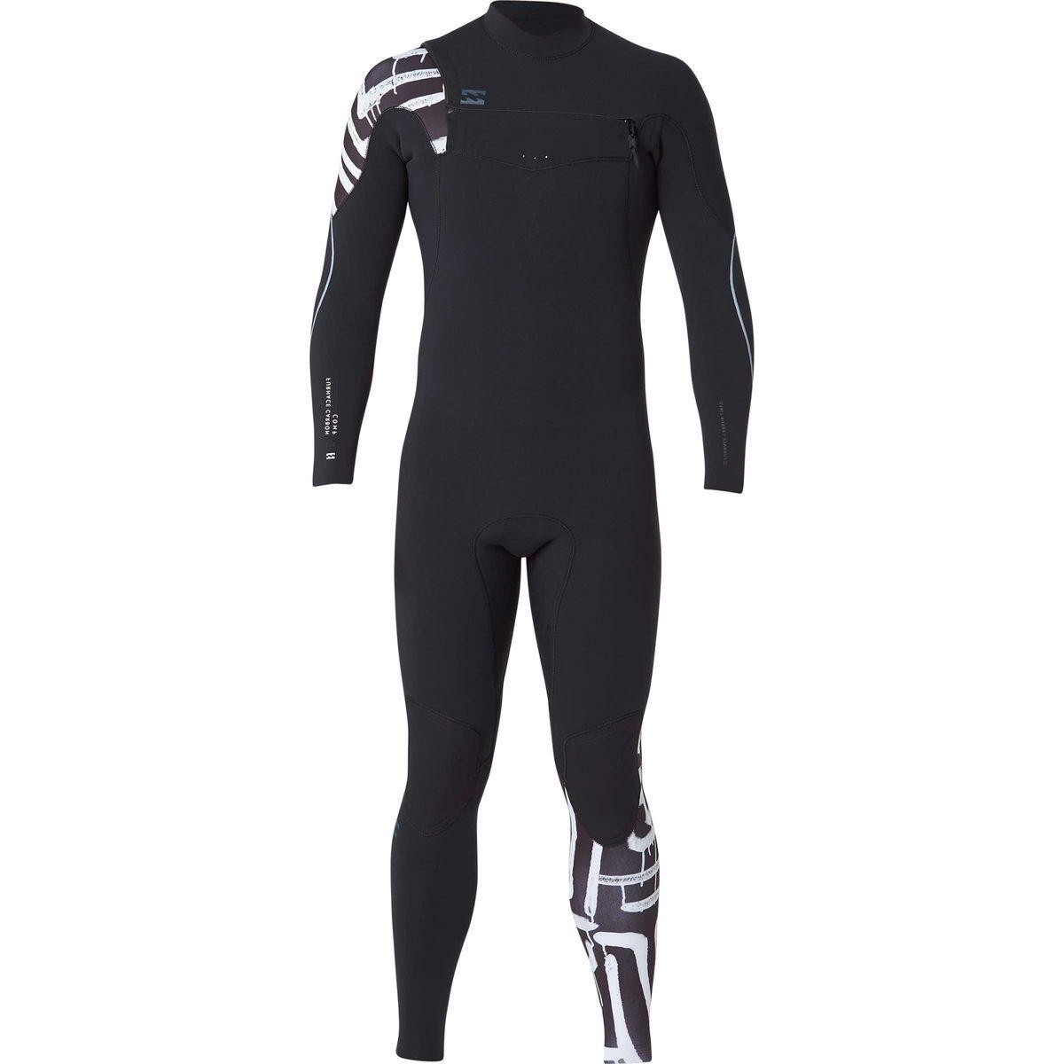 Billabong 3/2 Furnace Carbon Comp Chest Zip Full Wetsuit - Men's