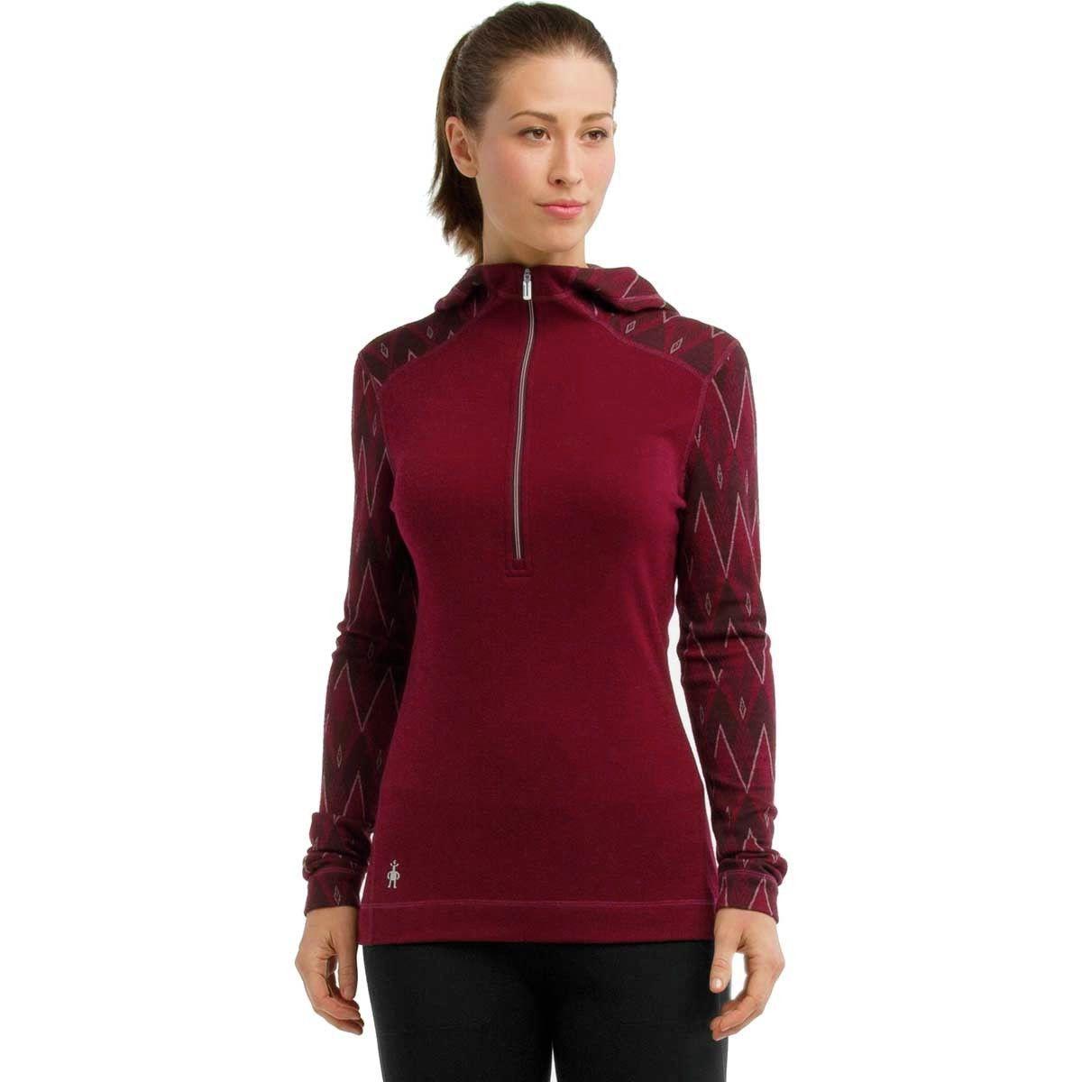 Smartwool Merino 250 1/2-Zip Hooded Top - Women's