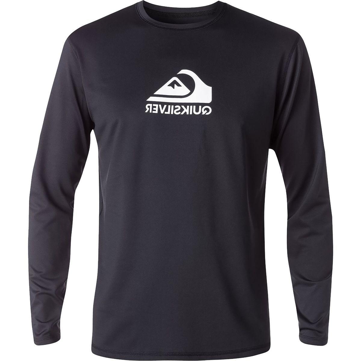 Quiksilver Solid Streak Long-Sleeve Rashguard - Men's