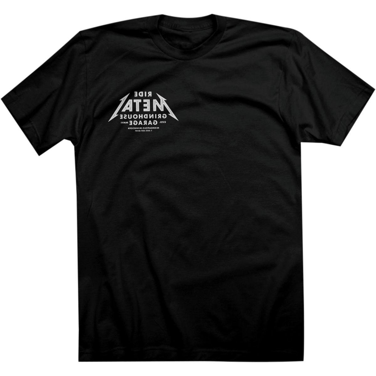 Twin Six Ride Metal T-Shirt - Men's