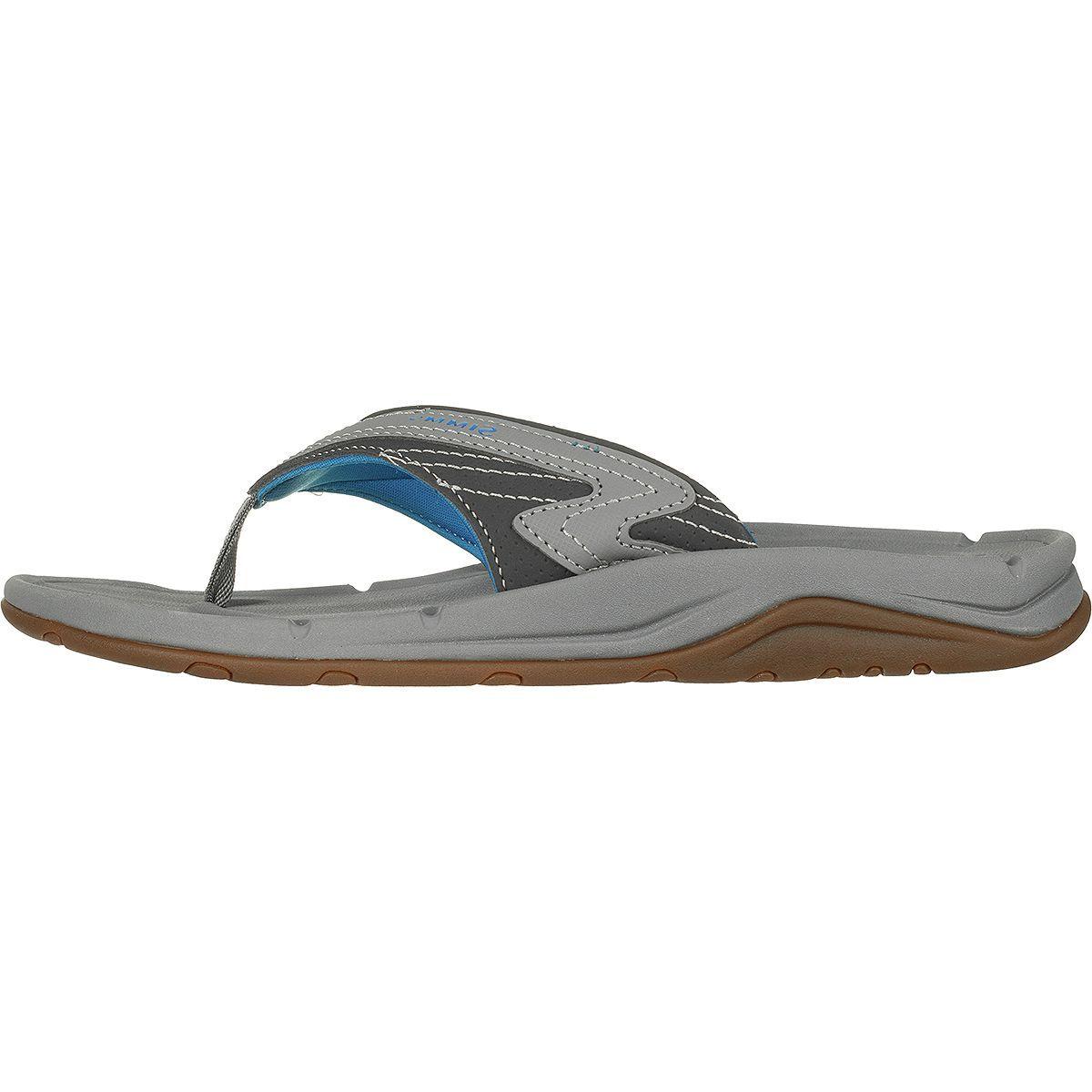 Simms Atoll Flip Flop - Wide - Men's