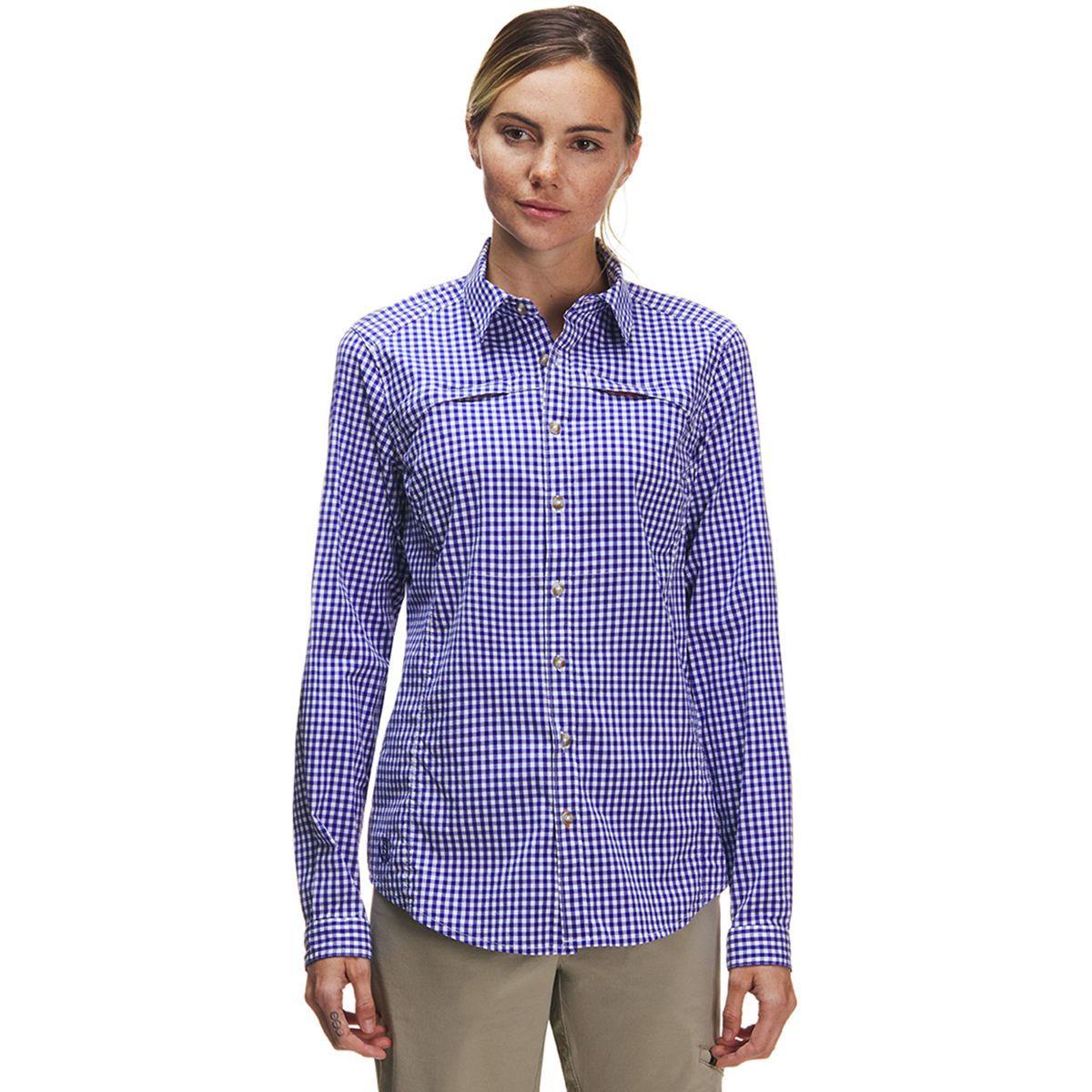 Orvis River Guide Tech Gingham Long-Sleeve Shirt - Women's