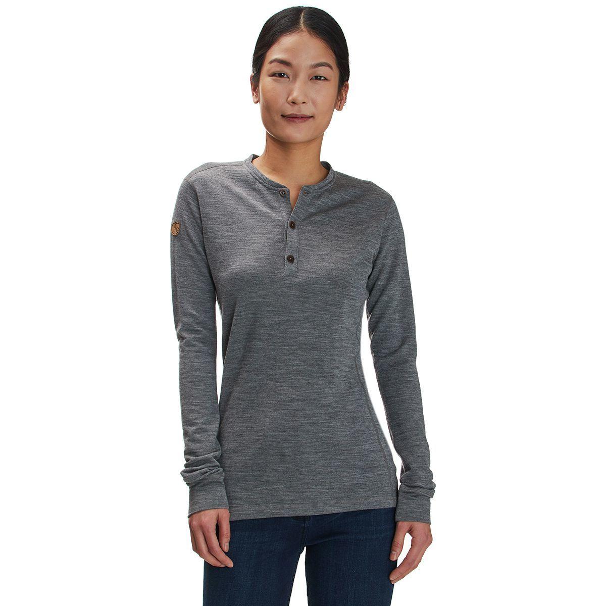 Fjallraven Lappland Merino Henley Shirt - Long-Sleeve - Women's