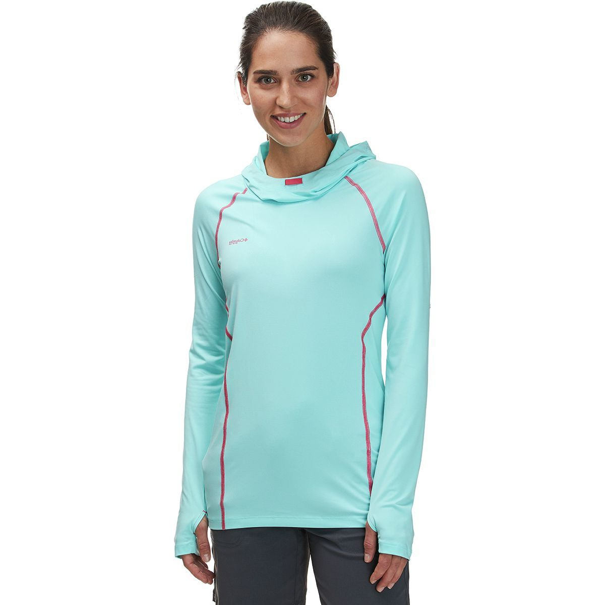 Columbia Tamiami Heather Knit Hooded Shirt - Women's
