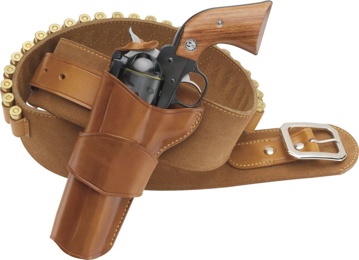 "Galco ""Model 1880's"" .45-Caliber Cartridge Belt - Tan"