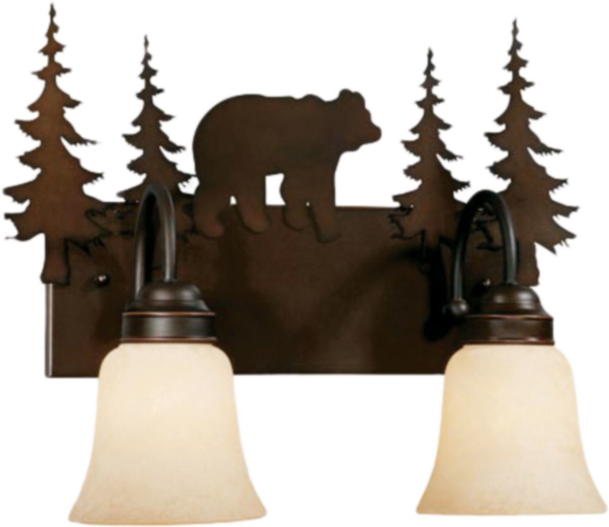 Vaxcel Lighting Bozeman Vanity Lights