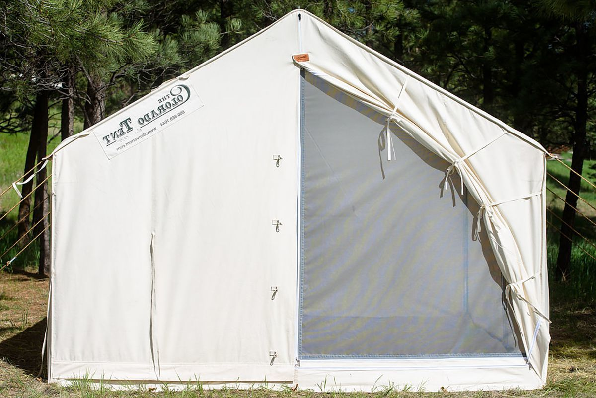 Denver Tent Co. Deluxe Colorado Wall Tents