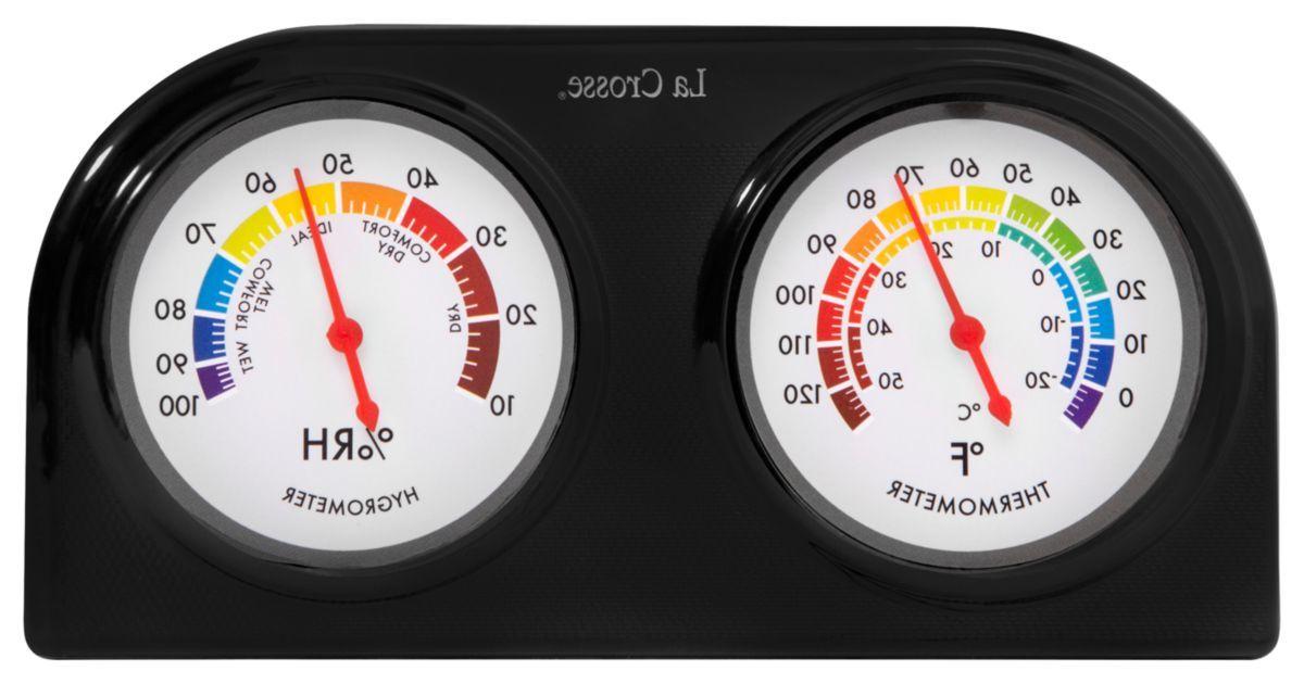 La Crosse Technology® Indoor Temperature and Humidity Gauge