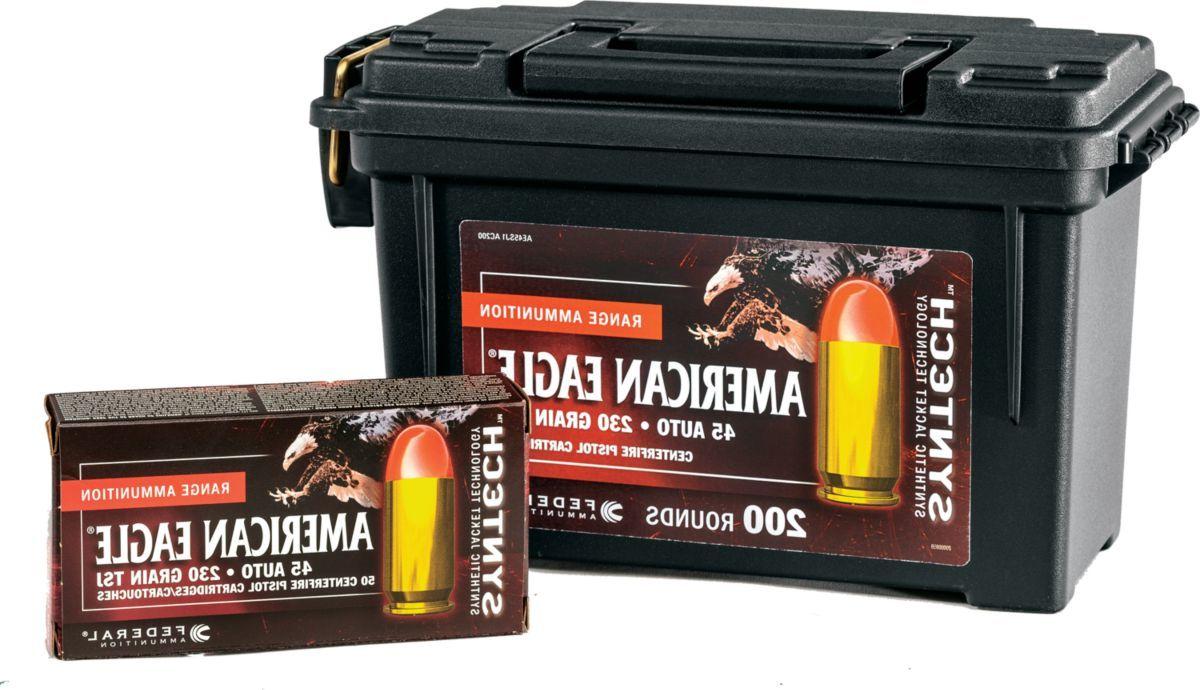 Federal® American Eagle® Syntech Handgun Ammo Can