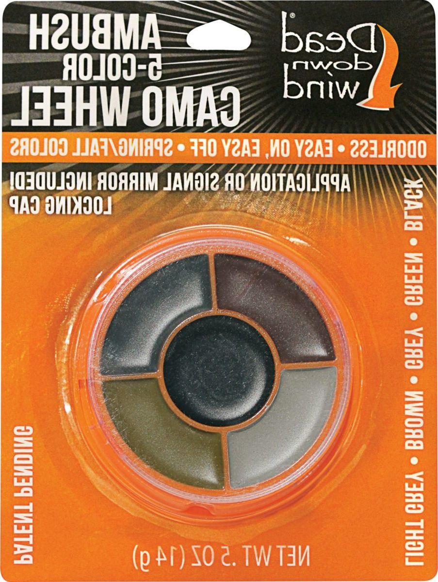 Dead Down Wind ScentPrevent® Camo Color Wheel Face Paint
